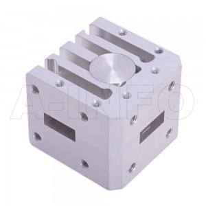 42WCIC-180265-20-50 WR42 Waveguide Circulator 18-26.5Ghz with Three Rectangular Waveguide Interfaces