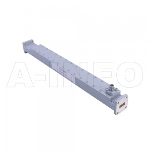 42WCK-40_Cu WR42 Waveguide High Directional Coupler WCx-XX Type 18-26.5GHz 40dB Coupling 2.92mm Female