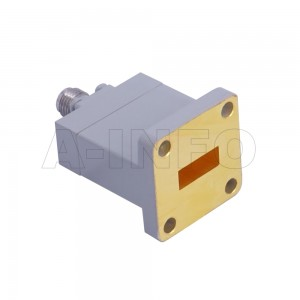 42WECAK_Cu Endlaunch Rectangular Waveguide to Coaxial Adapter 18-26.5GHz WR42 to 2.92mm Female