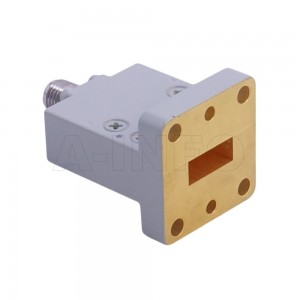 42WECAK_Cu_P0 Endlaunch Rectangular Waveguide to Coaxial Adapter 18-26.5GHz WR42 to 2.92mm Female