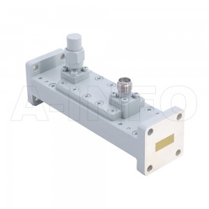 42WHCS-40_Cu WR42 Waveguide Loop Coupler WHCx-XX Type 18-26.5GHz 40dB Coupling SMA Female