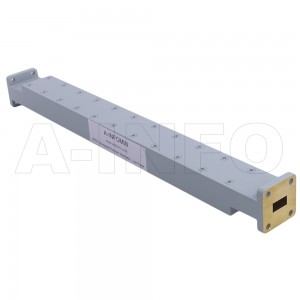 42WPFA-20_Cu WR42 Waveguide Low Power Precision Fixed Attenuator 18-26.5GHz with Two Rectangular Waveguide Interfaces