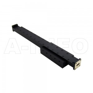 42WPFA100-3 WR42 Waveguide Medium Power Precision Fixed Attenuator 18-26.5GHz with Two Rectangular Waveguide Interfaces