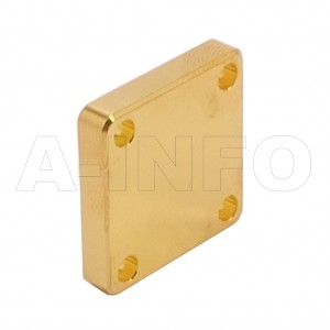42WS_Cu WR42 Waveguide Short Plates 18-26.5GHz with Rectangular Waveguide Interface