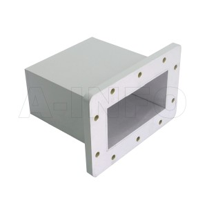 430WECAS Endlaunch Rectangular Waveguide to Coaxial Adapter 1.7-2.6GHz WR430 to SMA Female