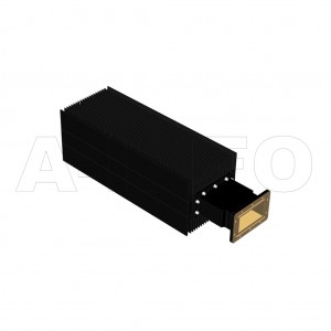 430WHPL2500_DM WR430 Waveguide High Power Load 1.7-2.6GHz with Rectangular Waveguide Interface
