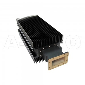 430WHPL6500 WR430 Waveguide High Power Load 1.7-2.6GHz with Rectangular Waveguide Interface