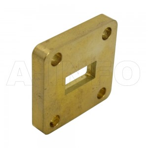 51-FBP180 WR51 Waveguide Flange 15-22GHz with Rectangular Waveguide Interface