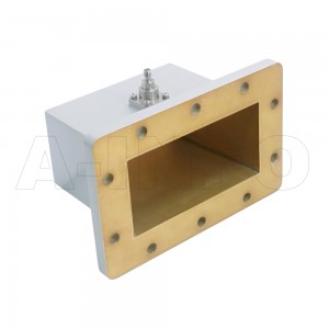 510WCAS Right Angle Rectangular Waveguide to Coaxial Adapter 1.45-2.2GHz WR510 to SMA Female