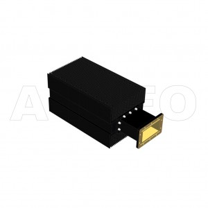 510WHPL5000_DM WR510 Waveguide High Power Load 1.45-2.2GHz with Rectangular Waveguide Interface