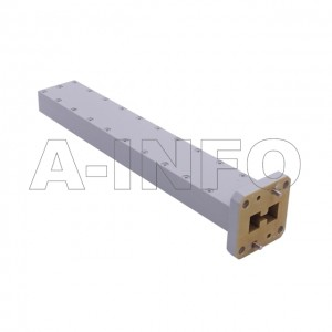 580DRWLPL WRD580 Double Ridge Waveguide Low Power Load 5.8-16GHz with Rectangular Waveguide Interface