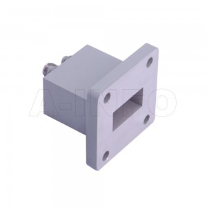 62WECAS Endlaunch Rectangular Waveguide to Coaxial Adapter 12.4-18GHz WR62 to SMA Female