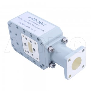 62WOMTWC69-02 WR62 Waveguide Ortho-Mode Transducer(OMT) 12.4-18GHz 17.475mm(0.688inch) WC69 Circular Waveguide Common Port
