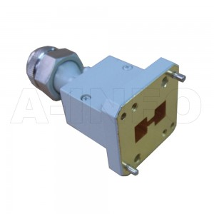 84DRWECAN Endlaunch Double Ridge Waveguide to Coaxial Adapter 0.84-2GHz WRD84 to N Type Female