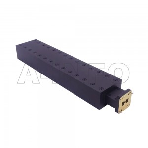 650DRWMPL250 WRD650 Double Ridge Waveguide Low Power Load 6.5-18GHz with Rectangular Waveguide Interface
