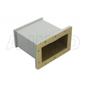 650WECAN Endlaunch Rectangular Waveguide to Coaxial Adapter 1.12-1.7GHz WR650 to N Type Female