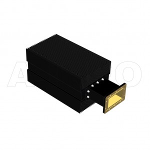 650WHPL2500_DM WR650 Waveguide High Power Load 1.12-1.7GHz with Rectangular Waveguide Interface