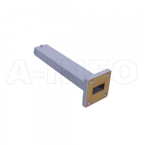 75WMPL25 WR75 Waveguide Low-Medium Power Load 10-15GHz with Rectangular Waveguide Interface
