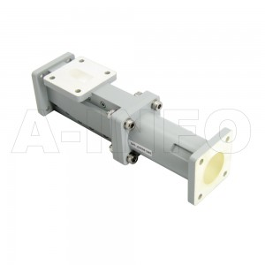 75WOMTC21.5-06 WR75 Waveguide Ortho-Mode Transducer(OMT) 10-13GHz 21.5mm(0.846inch) Circular Waveguide Common Port