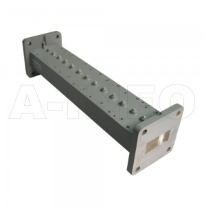 90LB-BP-9000-9500 WR90 Waveguide Band Pass Filter 8.2-12.4Ghz with Two Rectangular Waveguide Interfaces