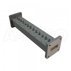 90LB-BP-9150-9650 WR90 Waveguide Band Pass Filter 8.2-12.4Ghz with Two Rectangular Waveguide Interfaces