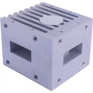 90WCIC-8999-20-80 WR90 Waveguide Circulator 8.9-9.9Ghz with Three Rectangular Waveguide Interfaces