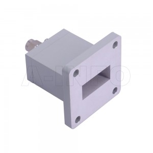 90WECASM Endlaunch Rectangular Waveguide to Coaxial Adapter 8.2-12.4GHz WR90 to SMA Male