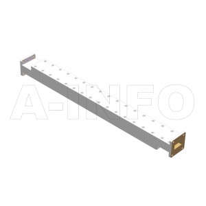 90WPFA-6 WR90 Waveguide Low Power Precision Fixed Attenuator 8.2-12.4GHz with Two Rectangular Waveguide Interfaces