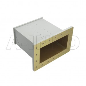 975WECAN Endlaunch Rectangular Waveguide to Coaxial Adapter 0.75-1.12GHz WR975 to N Type Female