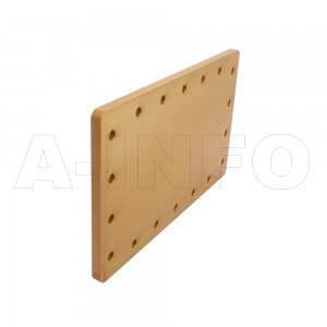 975WS WR975 Waveguide Short Plates 0.75-1.12GHz with Rectangular Waveguide Interface
