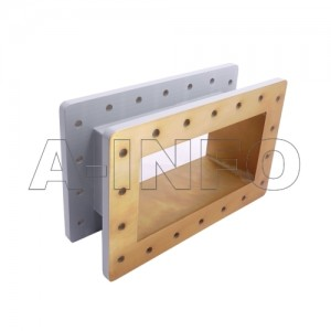 975WSPA14 WR975 Wavelength 1/4 Spacer(Shim) 0.75-1.12GHz with Rectangular Waveguide Interfaces