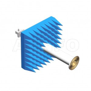 LB-ACH-229-10-C-TF-A1 Linear Polarization Corrugated Feed Horn Antenna 3.3-4.9GHz 10dB Gain TNC Female Equipped with Absorber