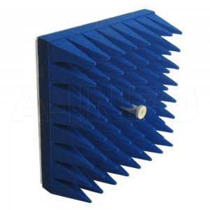 LB-ACH-62-10-T02-C-NF-A1 Dual Linear Polarization Corrugated Feed Horn Antenna 12.4-18GHz 10dB Gain N Type Female Equipped with Absorber