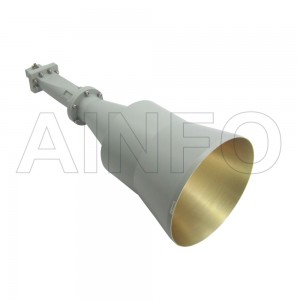 LB-CNH-137-20-C-SF Linear Polarization Conical Horn Antenna 5.85-8.2GHz 20dB Gain SMA Female