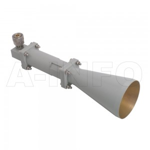 LB-CNH-90-15-C-7 Linear Polarization Conical Horn Antenna 8.2-12.4GHz 15dB Gain 7 mm