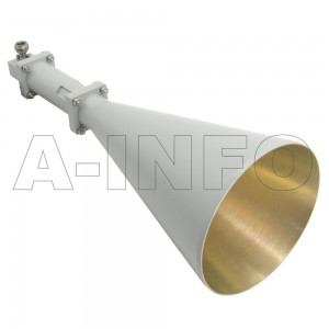 LB-CNH-90-20-C-NF Linear Polarization Conical Horn Antenna 8.2-12.4GHz 20dB Gain N Type Female