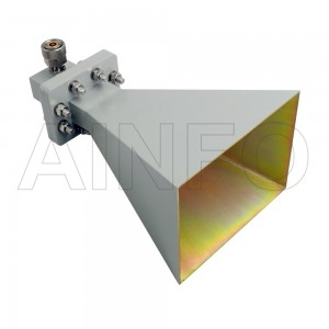 LB-OH-159-15-C-7 Octave Horn Antenna 4-8GHz 15dB Gain 7mm