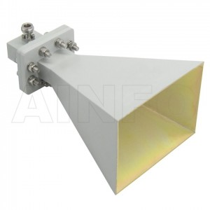 LB-OH-159-15-C-NF Octave Horn Antenna 4-8GHz 15dB Gain N Type Female
