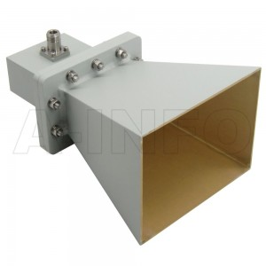 LB-OH-320-10-C-NF Octave Horn Antenna 2-4GHz 10dB Gain N Type Female