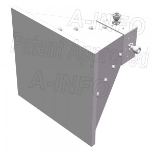 LB-SJ-10100-NFSPO Broadband Dual Polarization Horn Antenna 1-10GHz 10dB Gain N Type Female