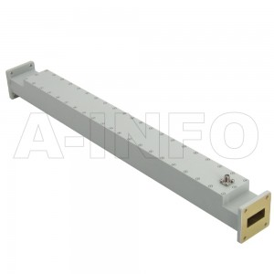 112WCS-40 WR112 Waveguide High Directional Coupler WCx-XX Type 7.05-10GHz 40dB Coupling SMA Female