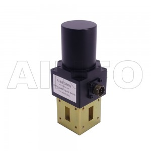 112WDESMD WR112 Rectangular Waveguide DPDT Latching Switch 7.05-10GHz E plane with four Rectangular Waveguide Interfaces