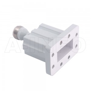 112WECAN_EP Endlaunch Rectangular Waveguide to Coaxial Adapter 7.05-10GHz WR112 to N Type Female