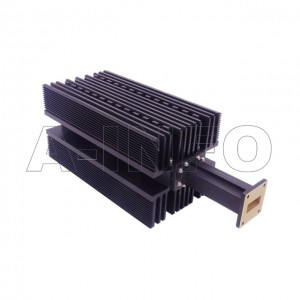 112WHPL2000 WR112 Waveguide High Power Load 7.05-10GHz with Rectangular Waveguide Interface