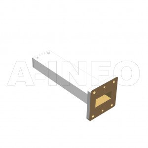 112WPL_PB WR112 Waveguide Precisoin Load 7.05-10GHz with Rectangular Waveguide Interface