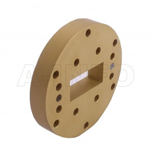 112WSPA14 WR112 Wavelength 1/4 Spacer(Shim) 7.05-10GHz with Rectangular Waveguide Interfaces