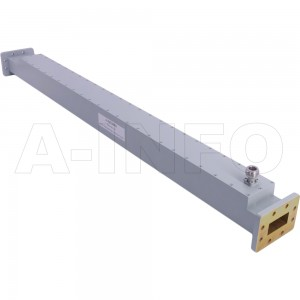 137WCN-30 WR137 Waveguide High Directional Coupler WCx-XX Type 5.85-8.2GHz 30dB Coupling N Type Female
