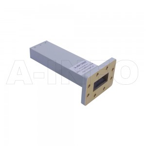 137WMPL25 WR137 Waveguide Low-Medium Power Load 5.85-8.2GHz with Rectangular Waveguide Interface