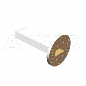 137WPL_P0 WR137 Waveguide Precisoin Load 5.85-8.2GHz with Rectangular Waveguide Interface