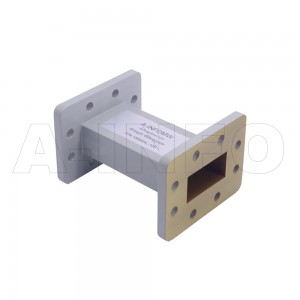 159WAL-100 WR159 Rectangular Straight Waveguide 4.9-7.05GHz with Two Rectangular Waveguide Interfaces